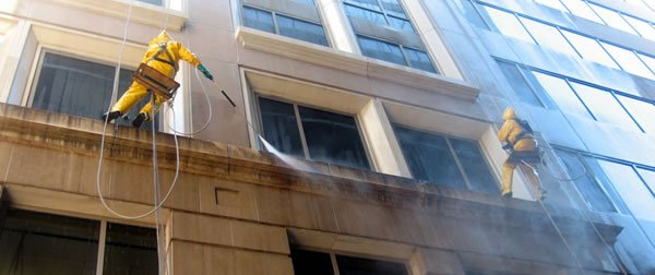 Commercial Building Cleaning : Commercial pressure washing service rpw prowash