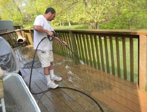 Residential Power Washing