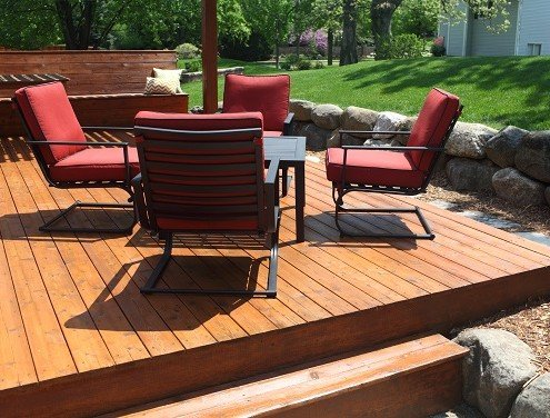 Rockford Wood Deck Restoration