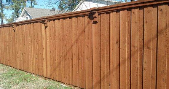 Fence Staining & Restoration