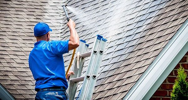 Low Pressure Roof Cleaning Illinois