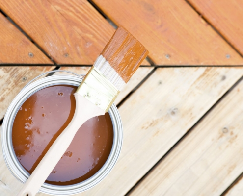 Deck Cleaning, Staining, And Regular Maintenance