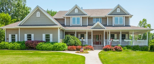 Residential Exterior House Washing