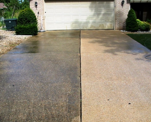 Deep Concrete Cleaning