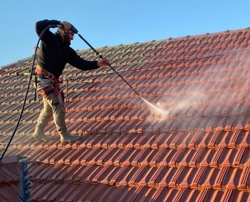 Commercial Roof Cleaning Services Northern IL