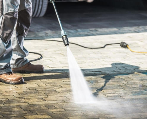 Concrete Cleaning Insurance