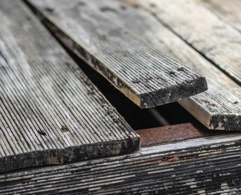 Deck Deterioration